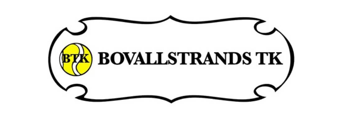 Sollidens handelsträdgård sponsrar Bovallstrands tennisklubb.