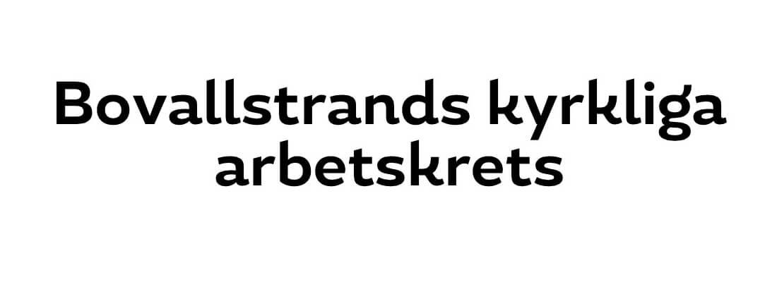 Sollidens handelsträdgård sponsrar Bovallstrands kyrkliga arbetskrets.