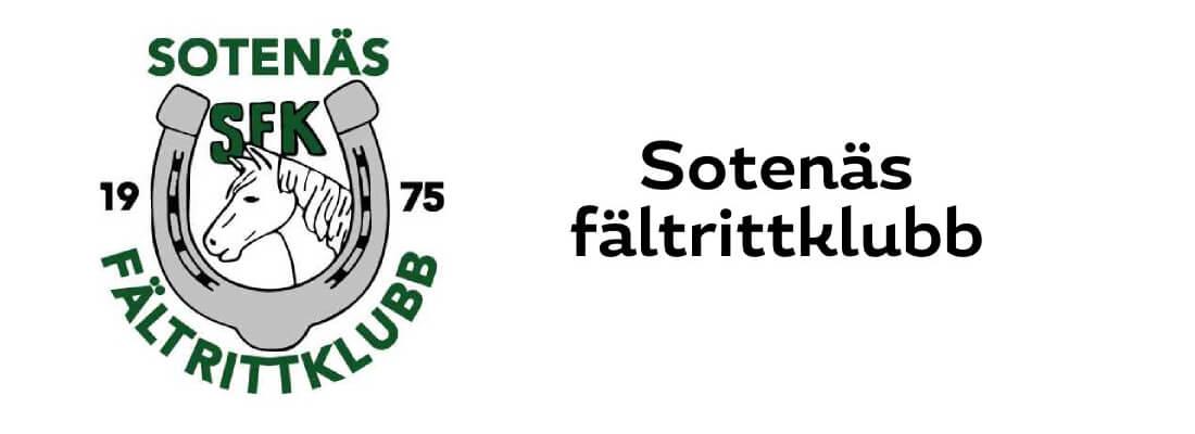 Sollidens handelsträdgård sponsrar Sotenäs fältrittklubb.