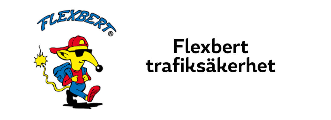 Sollidens handelsträdgård sponsrar Flexbert trafiksäkerhet.