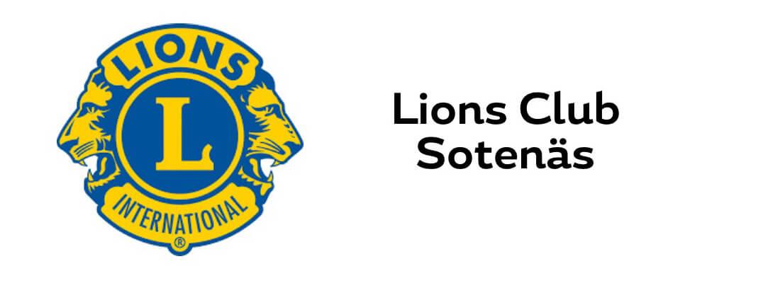 Sollidens handelsträdgård sponsrar Lions Club Sotenäs.