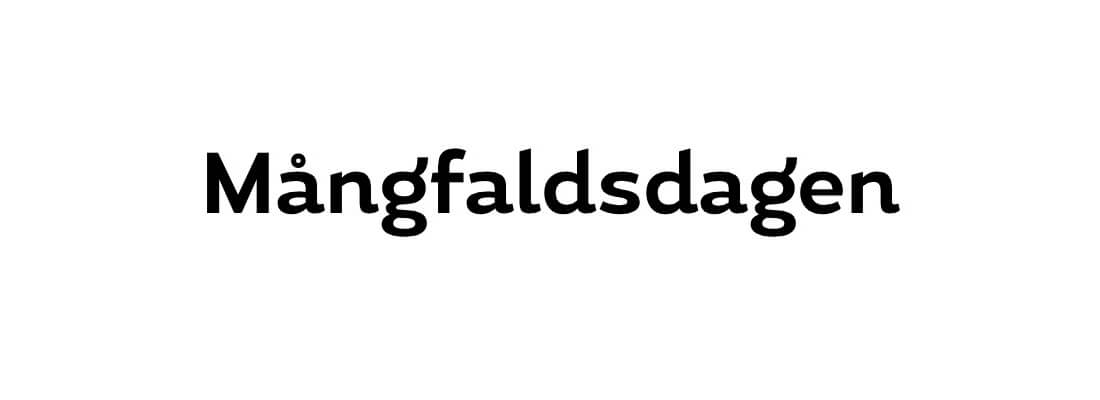 Sollidens handelsträdgård sponsrar Mångfaldsdagen.