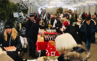 Evenemang: Julmarknad på Sollidens handelsträdgård. Vilken härlig julstämning med mingel, försäljning av hantverk och lokalt producerad mat.