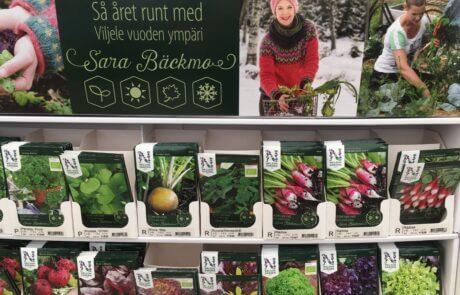 Frö Fröer Odla Frösådd Sådd, Sara Bäckmo