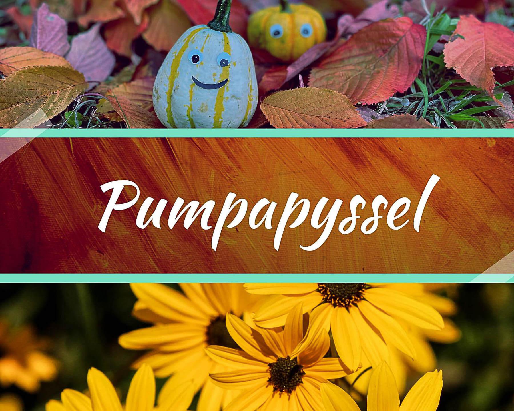 Pumpapyssel för barn.