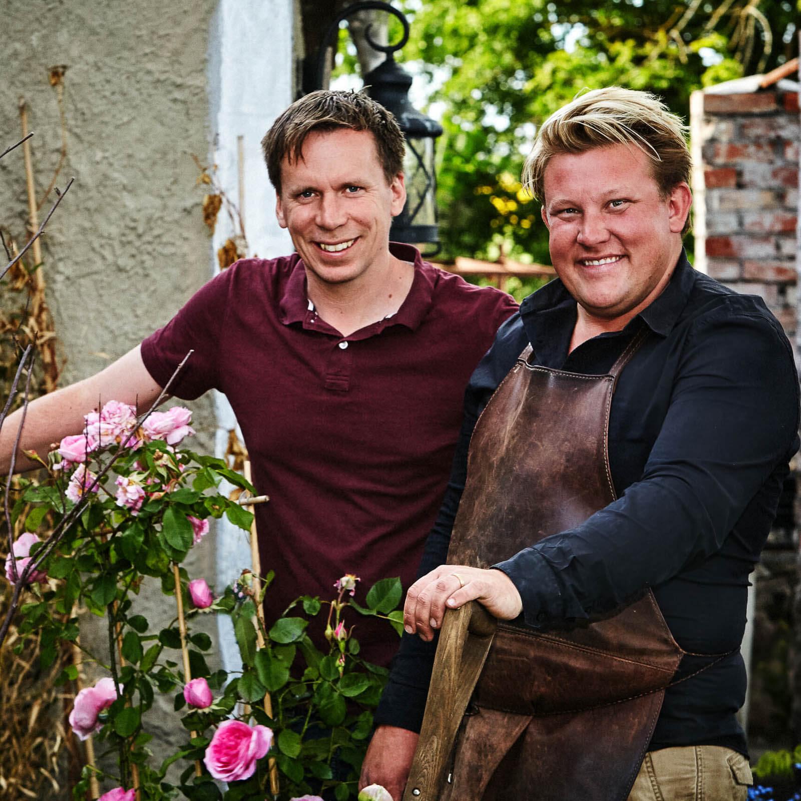 Stora planteringsveckan Karl Fredrik och Petter